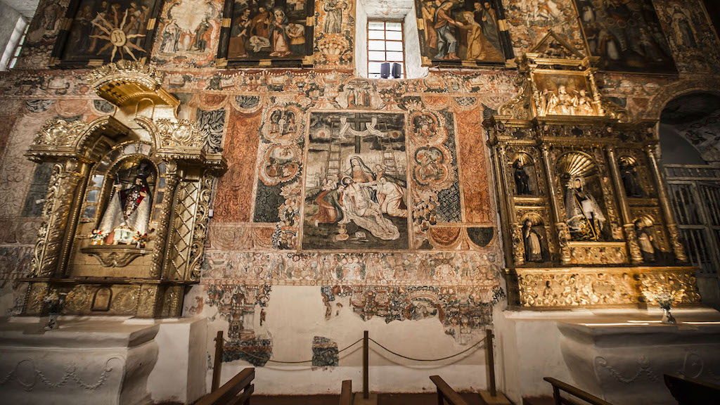la ruta del barroco andino - huaro - 7